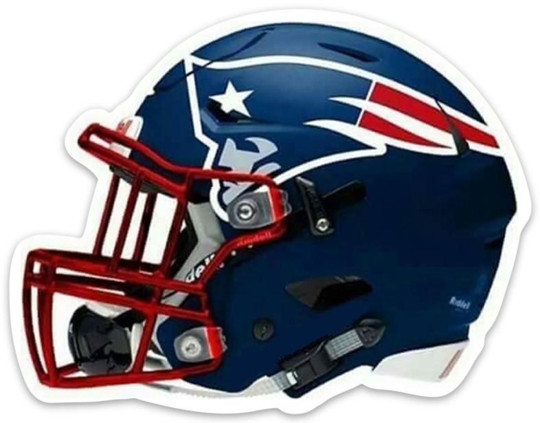 $4.49 • Buy New England Patriots Logo Helmet Type NFL Football MAGNET
