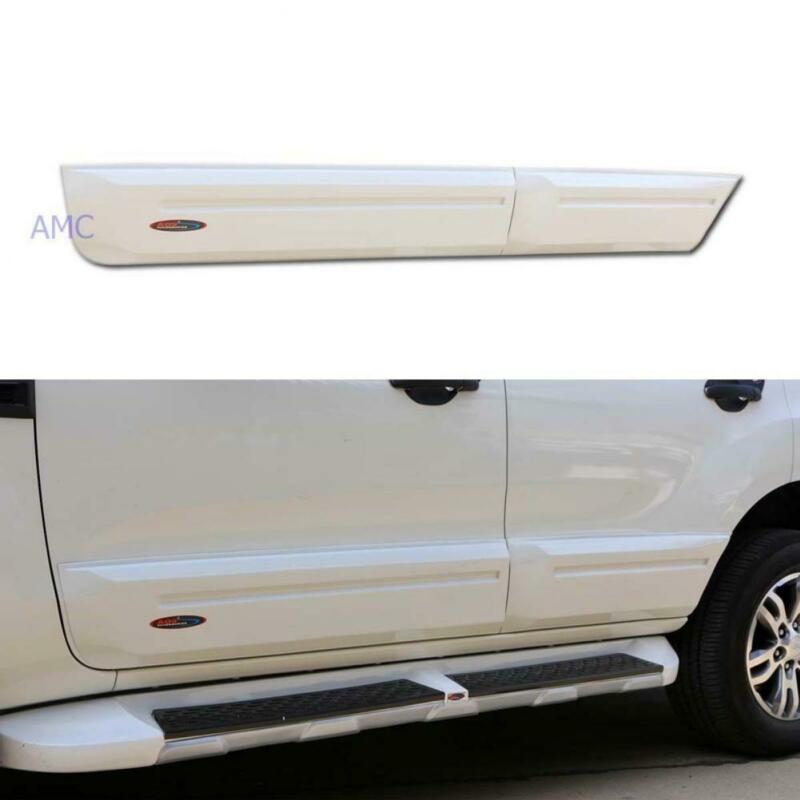 Fit Ford Everest Suv Duratorq Diesel Side Doors Guards Body Molding Trim 15 16 • 225.59$