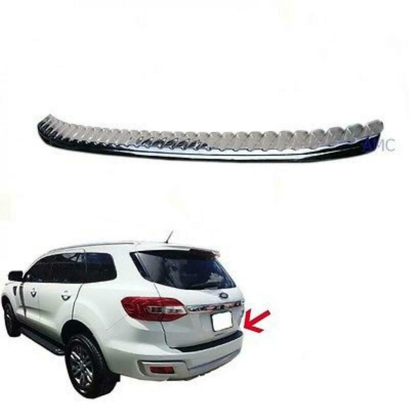 Fit 2015 2016 Ford Everest Suv Duratorq Diesel Back Guards Molding Trim Chrome • 149.55$