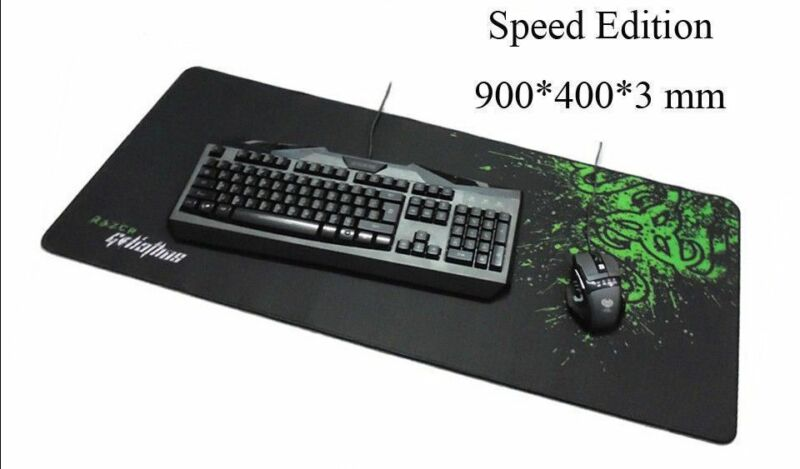 e5492db826b New Very Large Razer Goliathus Gaming Mouse Pad Mat Speed Edition 900*400* 3mm