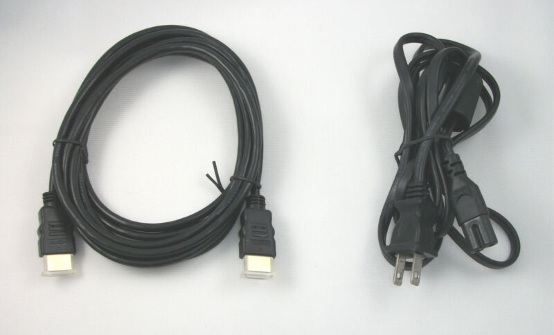 $8.95 • Buy USA SELLER XBOX ONE S Hookups Connection Kit Power Cord 10' HDMI AV Cable