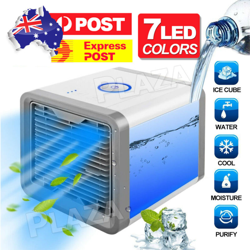 AU26.95 • Buy NEW Portable Mini Air Conditioner Cool Cooling For Bedroom Cooler Fan