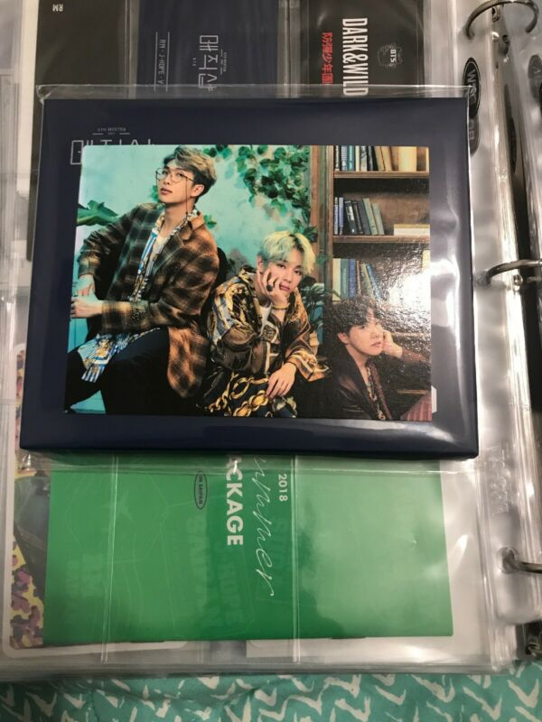 $35 • Buy BTS 5th Muster Magic Shop Official MD Pop Up Card RM J Hope V Seoul, Busan Set