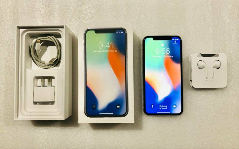 AU665 • Buy Apple IPhone X - 64GB - Silver (Unlocked)