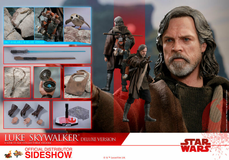 $209.99 • Buy Hot Toys Star Wars The Last Jedi Luke Skywalker Deluxe Version 1/6 12  Figure