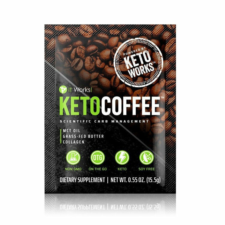 $47.99 • Buy It Works Keto Coffee 15 Single Scientific Carb Management