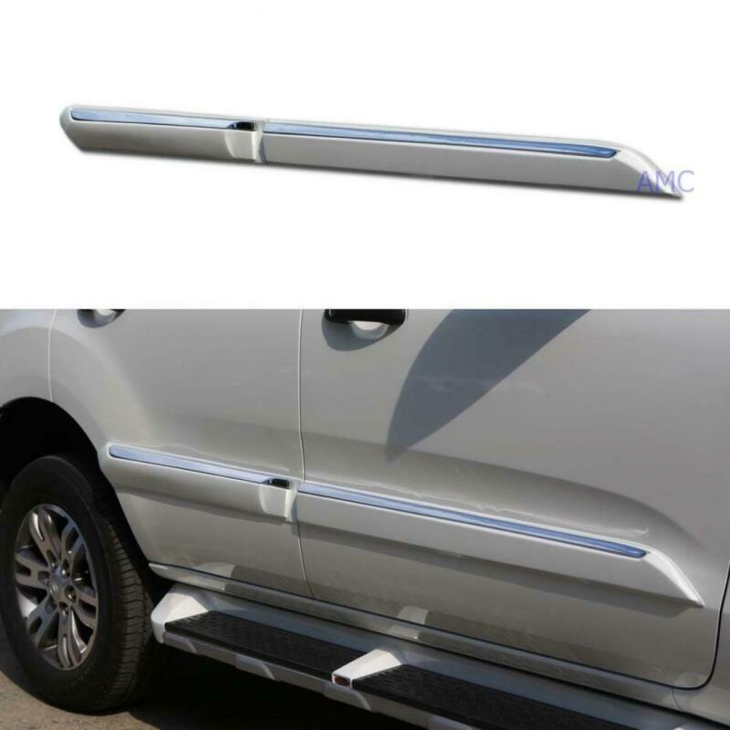 For 2015-2016 Ford Everest Suv Duratorq Diesel Doors Guards Body Molding Trim • 282.82$