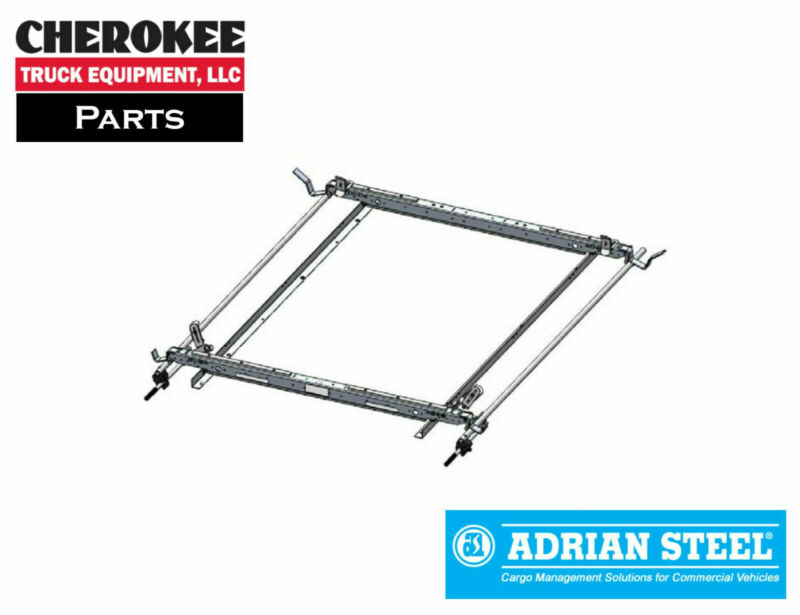 $651.50 • Buy Adrian Steel 63-GLFTL2, Double Grip Lock Ladder Rack For Ford Transit Low Roof