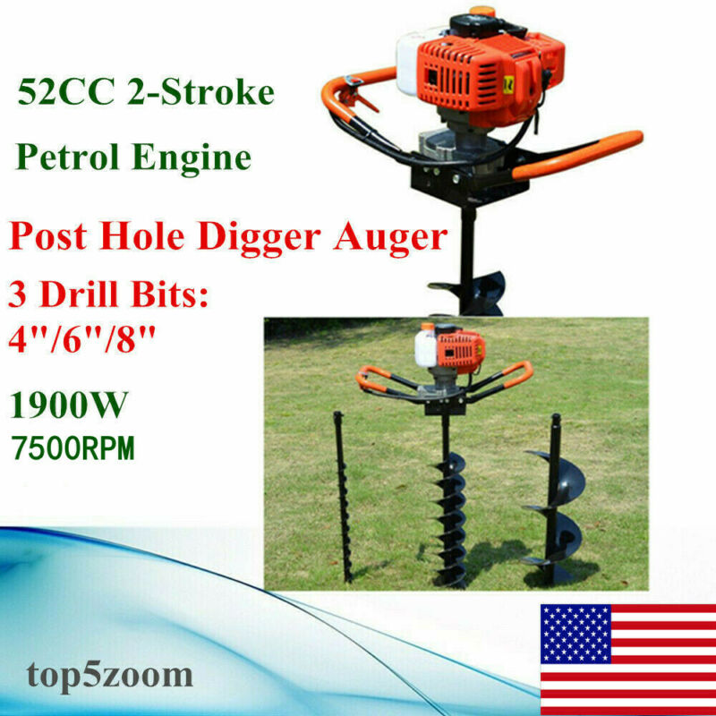 Gas Powered Post Hole Auger Compare Prices On Dealsan Com
