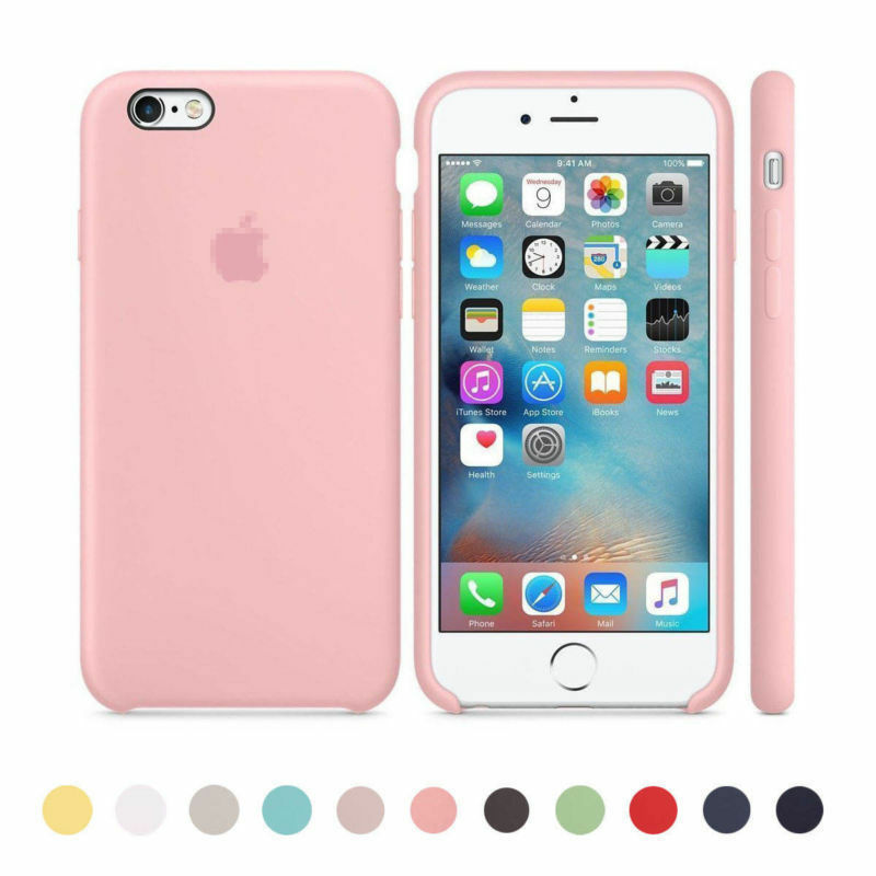 6aed367fd28 Original Ultra Suave Funda De Silicona Funda Para Apple IPhone 8 7 6 6s  Plus Cs2