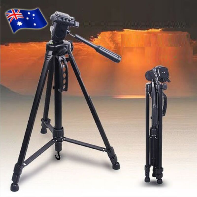 AU24.99 • Buy Weifeng Professional Tripod For Digital Camera DSLR Camcorder Video Tilt Monopod