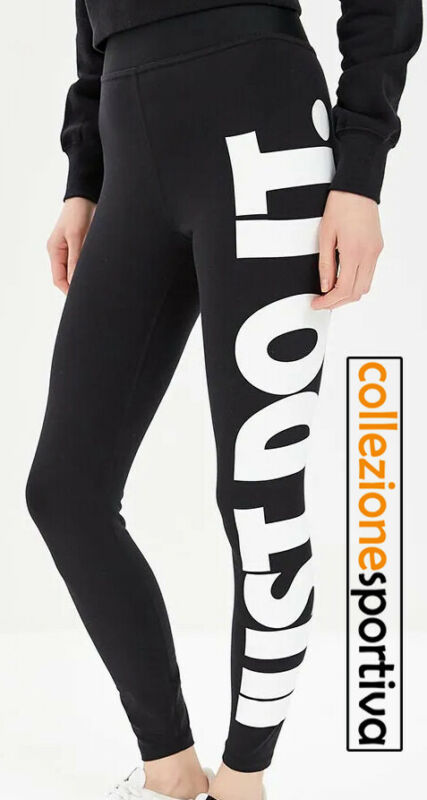 fadf033da3 LEGGINGS RAGAZZA/DONNA NIKE SPORTSWEAR JUST DO IT - AR3511-010 Col. Nero