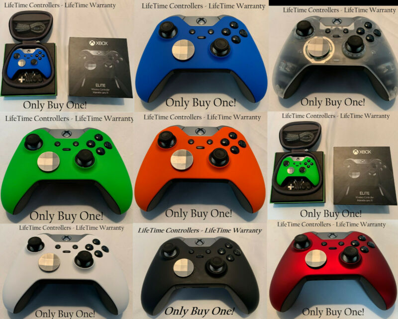 $139.99 • Buy Custom XBOX ONE ELITE Edition Wireless Controller All Colors - LifeTime Warranty