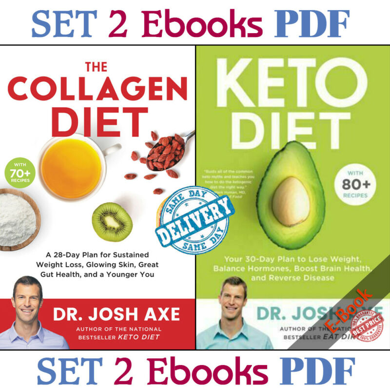 Keto Diet: Your 30-Day Plan To Lose Weight By Josh Axe - P.D.F - FAST DELIVERY • 1.99$