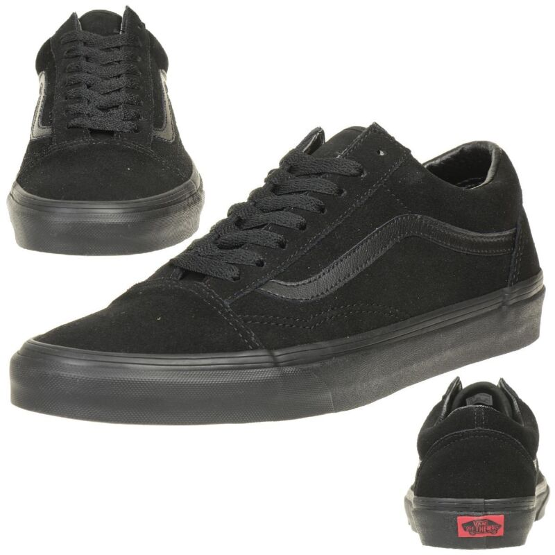 vans all school negras