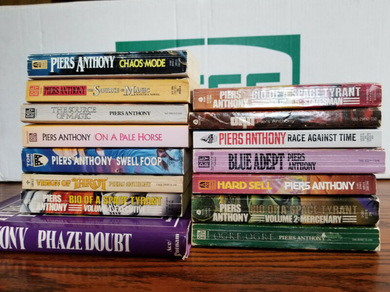 PIERS ANTHONY Book Lots YOU PICK Fantasy Science Fiction Xanth Swell Foop Tyrant • 2.65$