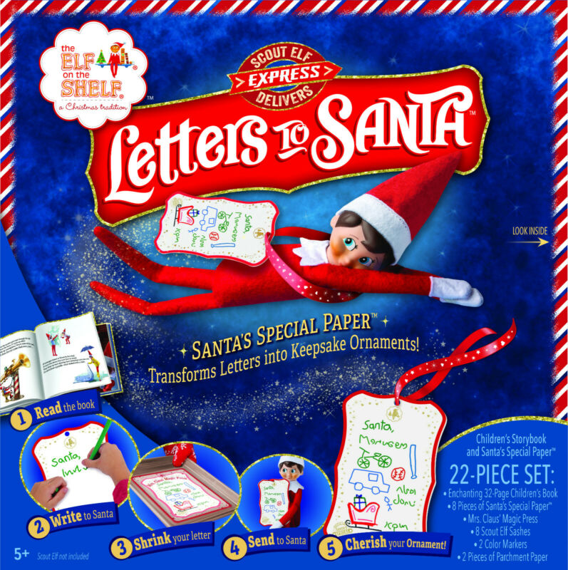 AU29.95 • Buy Elf On The Shelf Pets-Letters To Santa