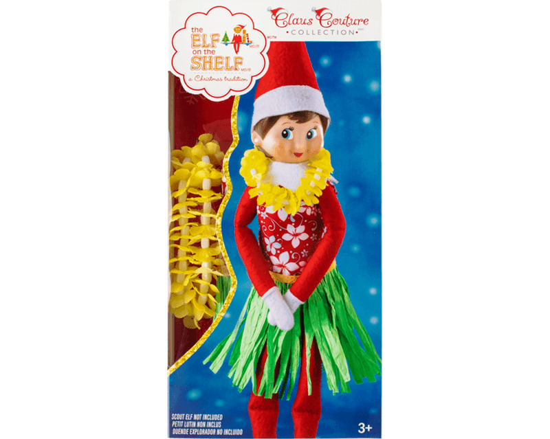 AU24.95 • Buy Elf On The Shelf Claus Couture Collection - Holiday Hula Wear