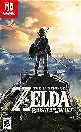 Nintendo Switch The Legend Of Zelda Breath Of The Wild Brand New - Free Shipping • 50.99$