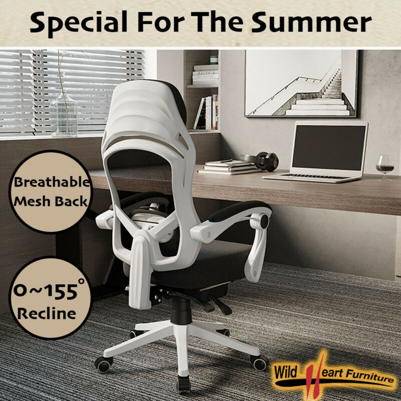 AU109.95 • Buy Office Chair Gaming Computer Chairs Mesh Back Foam Seat