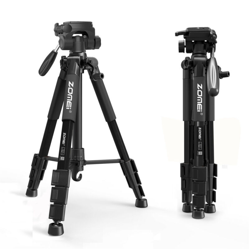 AU33.99 • Buy Professional Digital Tripod Monopod Ball Head For Camera Travel DV DSLR Compact