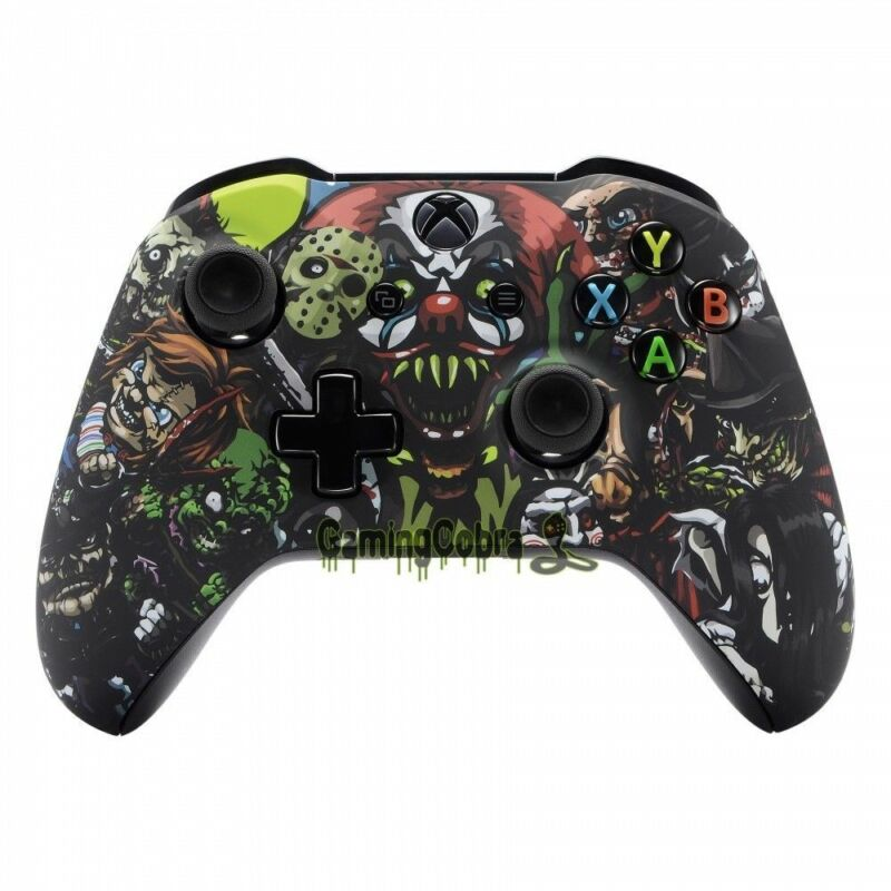 Scary Party Soft Touch Repair Faceplate Shell For Xbox One S X Remote Controller • 15.78$