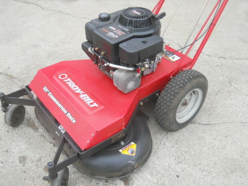 troy bilt wide cut