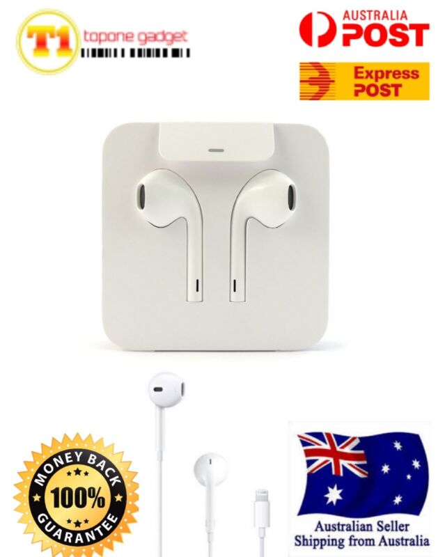 AU27.99 • Buy Genuine Apple Earphones Headphones EarPods A1748 For IPhone7 8 PLUS X XR XS MAX