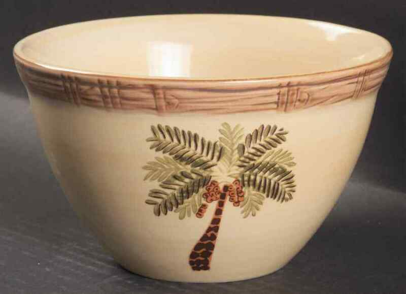 $11.99 • Buy Home Trends WEST PALM Cereal Bowl 4727057