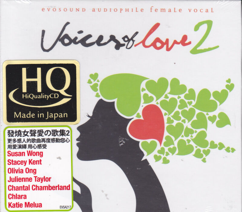 Voices Of Love Vol.2 Japan HQCD Audiophile CD Stacey Kent Susan Wong Olivia Ong • 24.99$