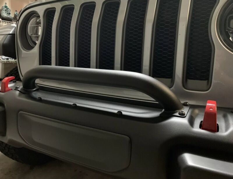 Mopar 82215351 Jeep Wrangler Grille And Winch Guard Fits JL And JT! • 210$