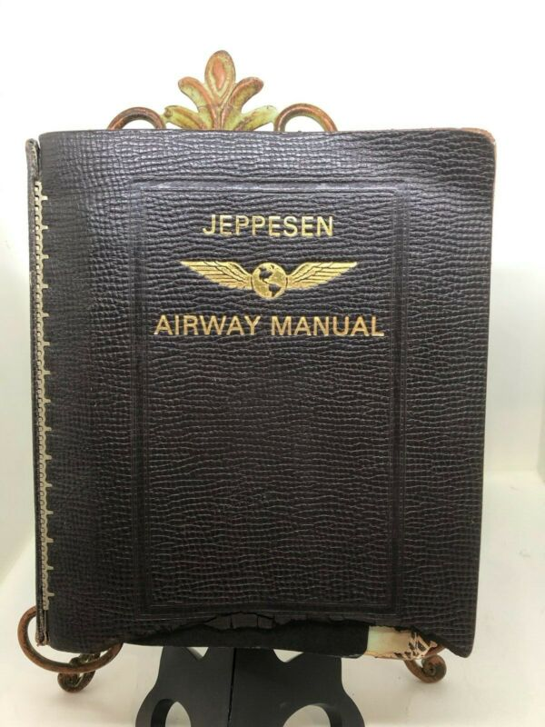 VINTAGE Delta Airlines Jeppesen Airway Manual Maps/Charts - US - SHIPS FREE!! • 76.26$