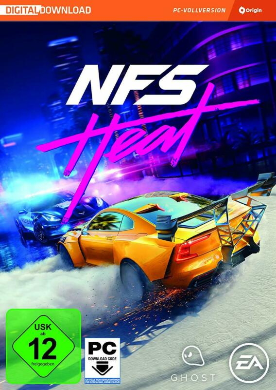 AU61.99 • Buy Need For Speed Heat - English Only - PC EA Origin Spiel Download Code - Global