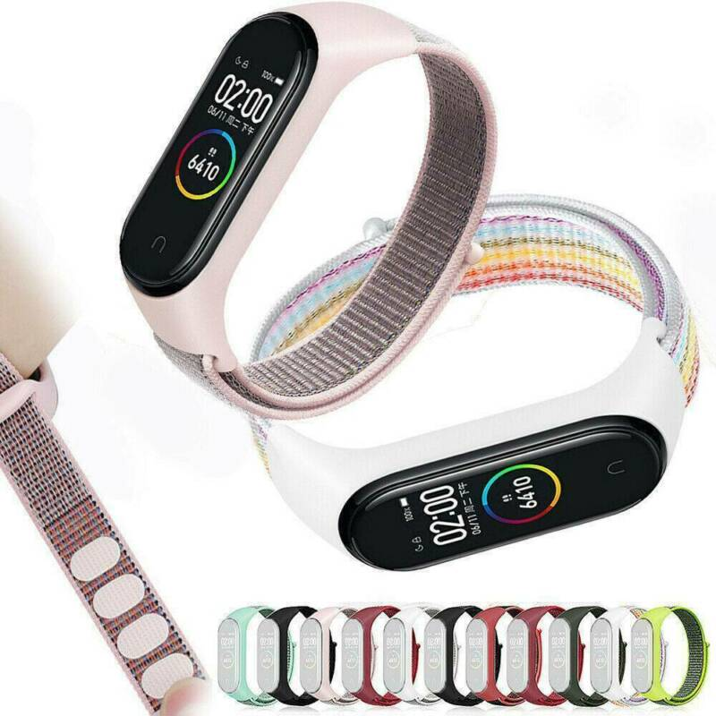 $2.03 • Buy Replaceable Bracelet For Xiaomi Mi Band 3 4 Sports Wristband Breathable Strap