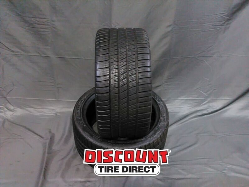 $300 • Buy 2 Used 275/35-18 Michelin Pilot Sport A/s 3 Plus 35r R18 Tires 26028