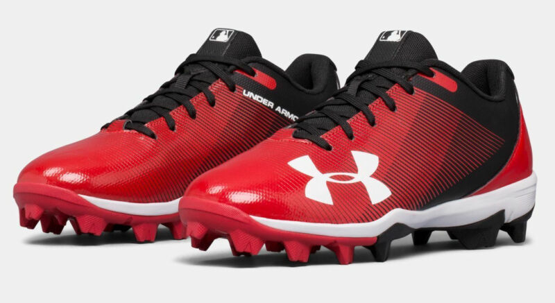26aed4c52f7 Under Armour Boys UA 2019 Leadoff Low RM Youth Baseball Softball Molded  Cleats • 32.99