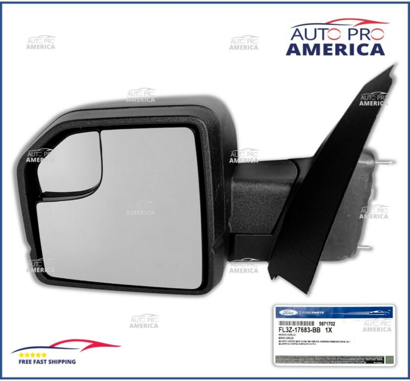 $237.89 • Buy NEW GENUINE FORD 2015-2019 F150 Power Adjustable DRIVER Mirror Assy FL3Z17683BB