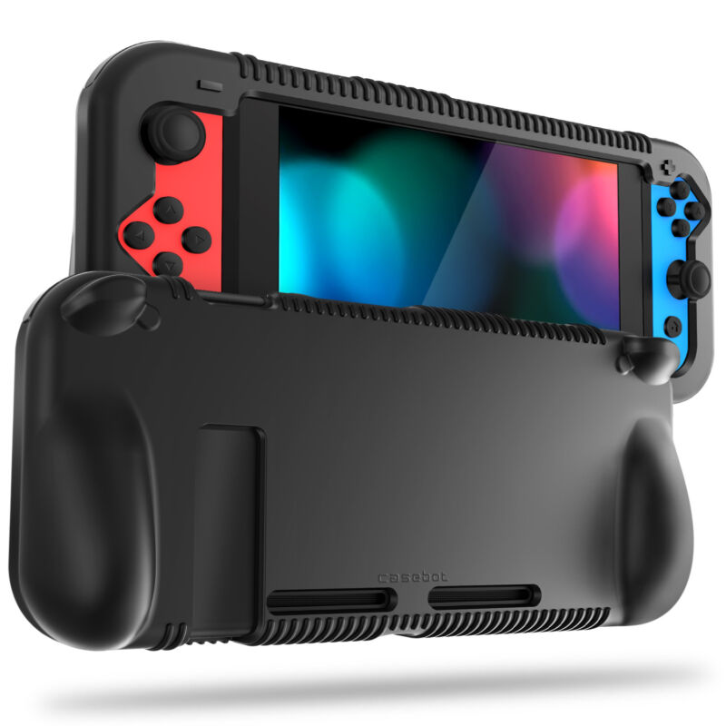 For Nintendo Switch Console Joy-Con Silicone Case Soft Shock Proof Grip Cover • 8.79$