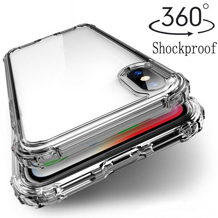 For Xiaomi Redmi 8 7A Note 8 7 6 5 ProShockproof Transparent Silicone Case Cover • 2.17$