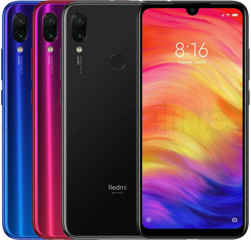 Xiaomi Redmi Note 7 64GB 4GB RAM GSM Factory Unlocked International Version • 171.99$