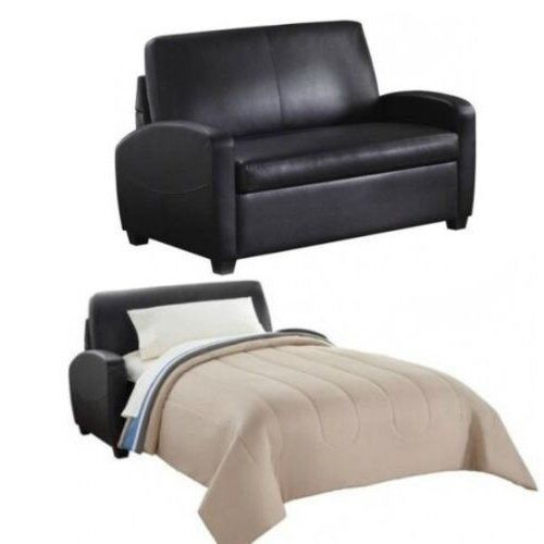 Leather Sleeper Loveseat | Compare Prices on dealsan.com