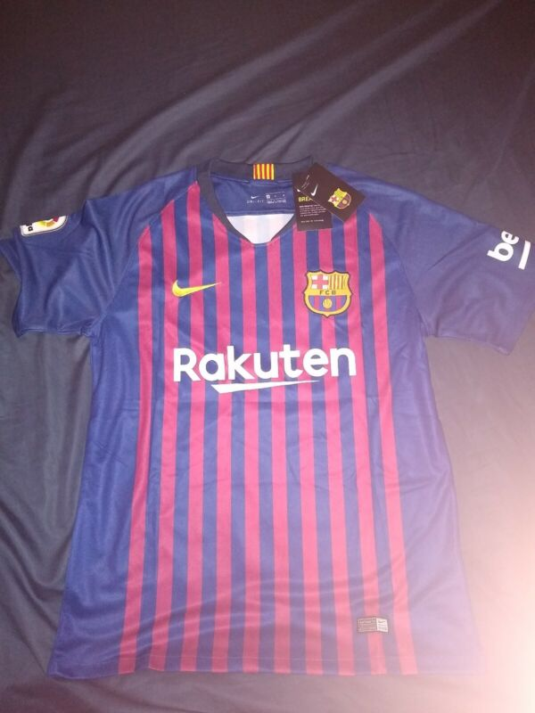 $25 • Buy Lionel Messi FC Barcelona Soccer Club New Jersey
