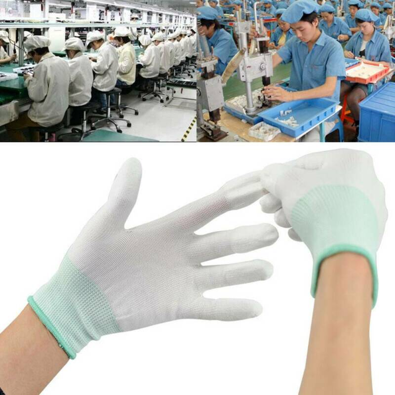 $1.75 • Buy 1Pair Anti Static Antiskid ESD Gloves Computer Repair Electronic Labor Worker CA