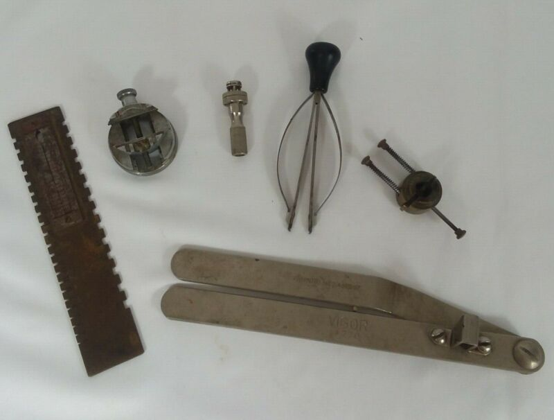 $ CDN65.68 • Buy Vintage Watch Repair Tool Lot Of 6 Watchmakers Bench Tools And Vises