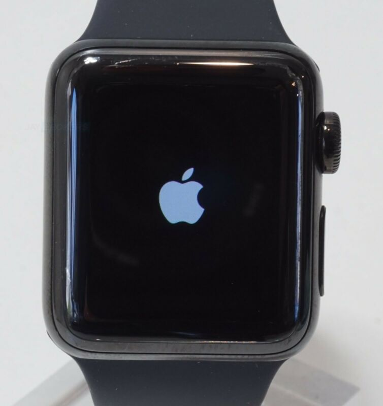 $ CDN262.89 • Buy Apple Watch Series 3 Stainless Steel Case 38mm (GPS + Cellular) MQJW2LL/A