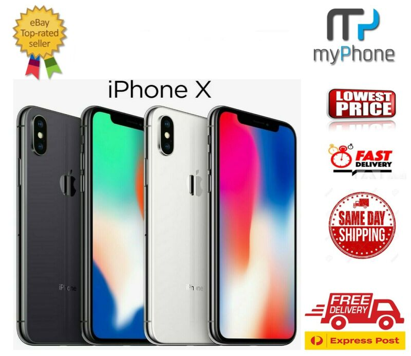 AU635 • Buy Apple IPhone X 10 [ 64GB/256GB ] Space Grey/Silver [AU Stock] A1865 Unlocked