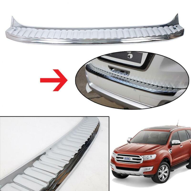 2015 2016 2017 FIT Ford Everest Facelift SUV Back Guards Rear Cover Trim Chrome • 99.82$