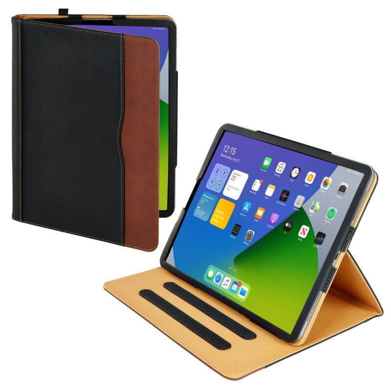 $19.99 • Buy S-Tech Soft Leather IPad Case Magnetic Smart Cover For Apple IPad Pro 12.9