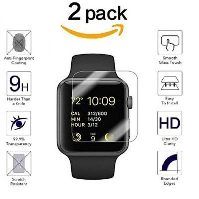 $ CDN1.30 • Buy 2 PACKS For Apple Watch ( Series 3 ) 38mm/42mm Tempered Glass Screen Protector