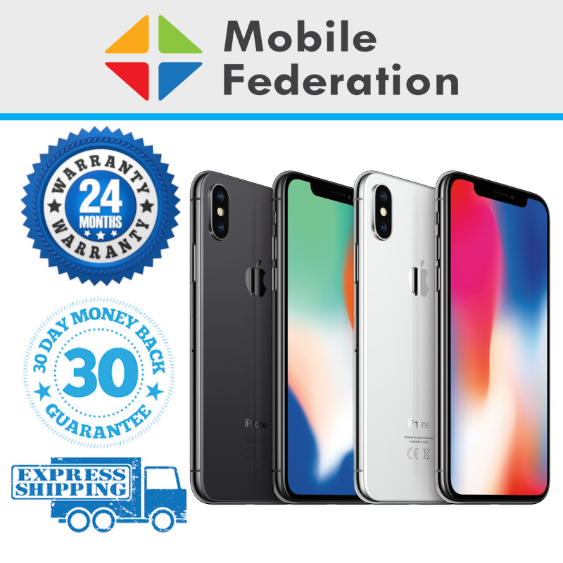 AU669 • Buy Apple IPhone X 64GB 256GB A1865 Unlocked Space Grey Silver [Au Stock]